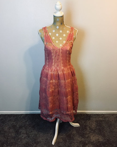 Apricity Dusty Pink Dress (SMALL)