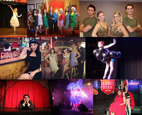 Pin-Ups on Tour Dates Shows Events