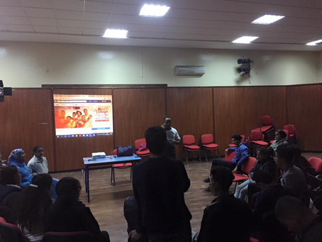 Atelier de sensibilisation Maison des jeunes Hay mohammedi casablanca - 03/12/2016