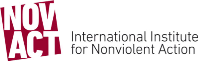 Through the use of nonviolent action, NOVACT struggles to achieve a society based on human security and nonviolence, as well as a society free of armed conflicts and violence in all its dimensions. Understanding nonviolence as a strategy for transformation, NOVACT aims to contribute to a peaceful, just, and dignified world.