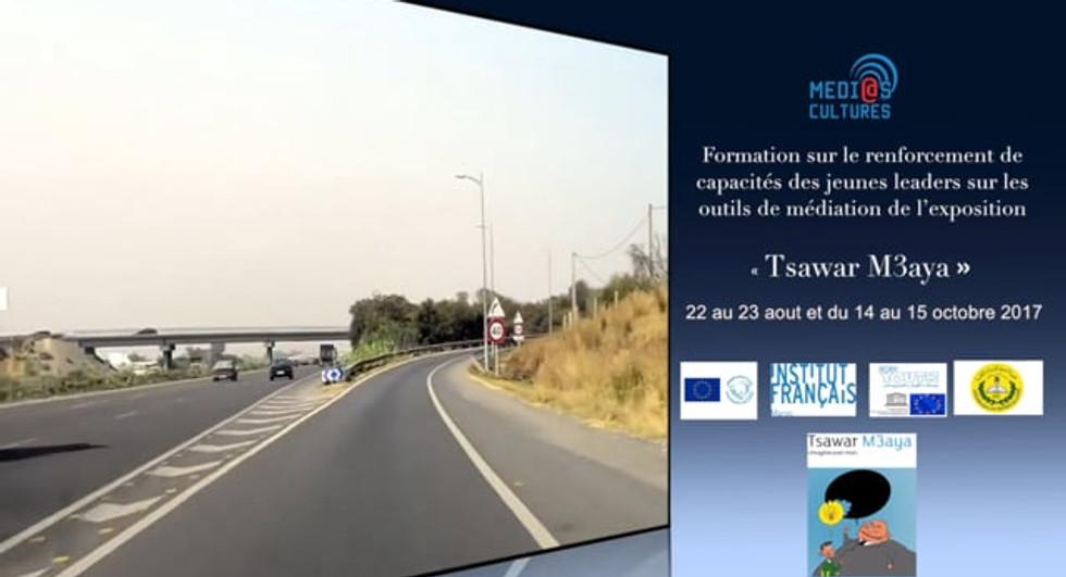 "Formation, méthodes et outils de l'exposition ""Tsawar m3aya"""