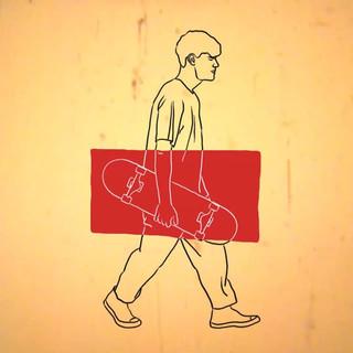Skater Rotoscope Animation
