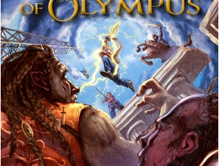 ★★★★★—The Blood of Olympus by Rick Riordan