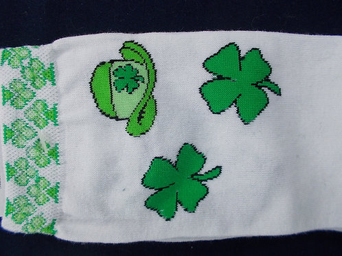 Foot Traffic Socks St. Patrick's Paddys Shamrocks