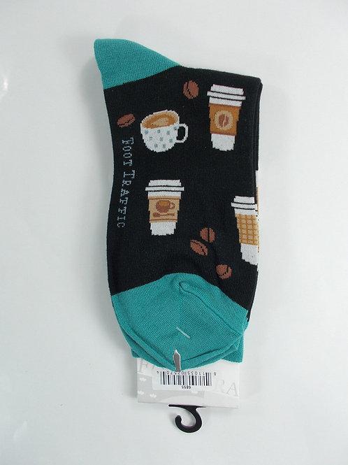 Foot Traffic Women's Socks Coffee Mugs & Cups