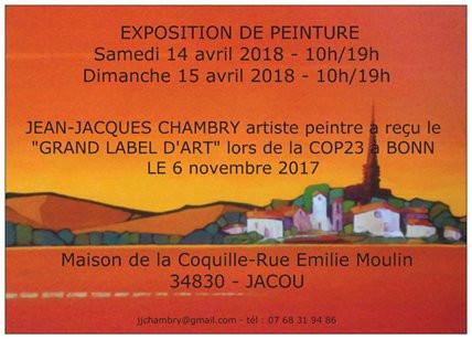 Exposition à JACOU les 14 et 15 Avril 2018