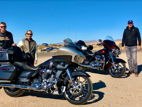 MCC Motorcycle Ride Through Coachella Valley