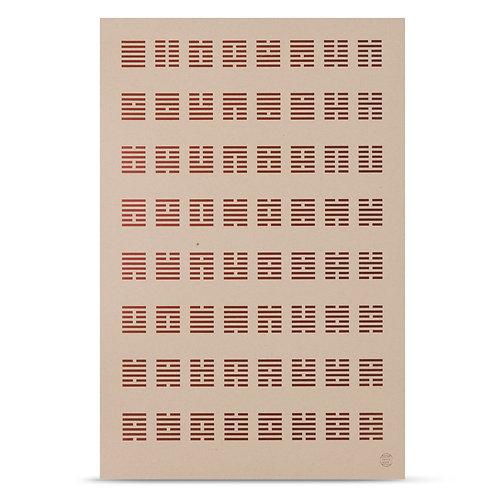 Hexagram Print