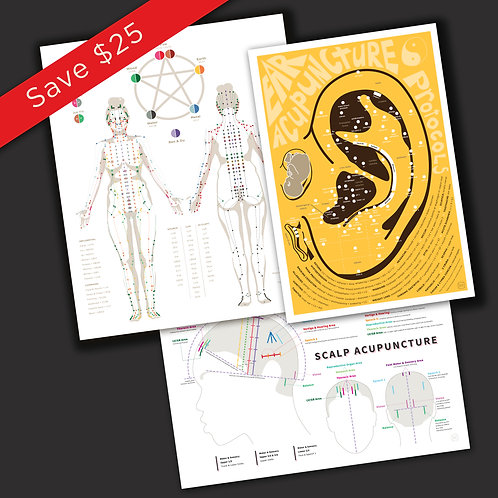Acupuncture Print Package