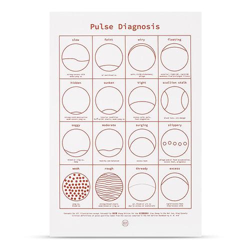 Pulse Diagnosis (burnt orange)