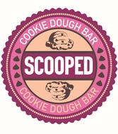 Scooped Cookie Dough Bar