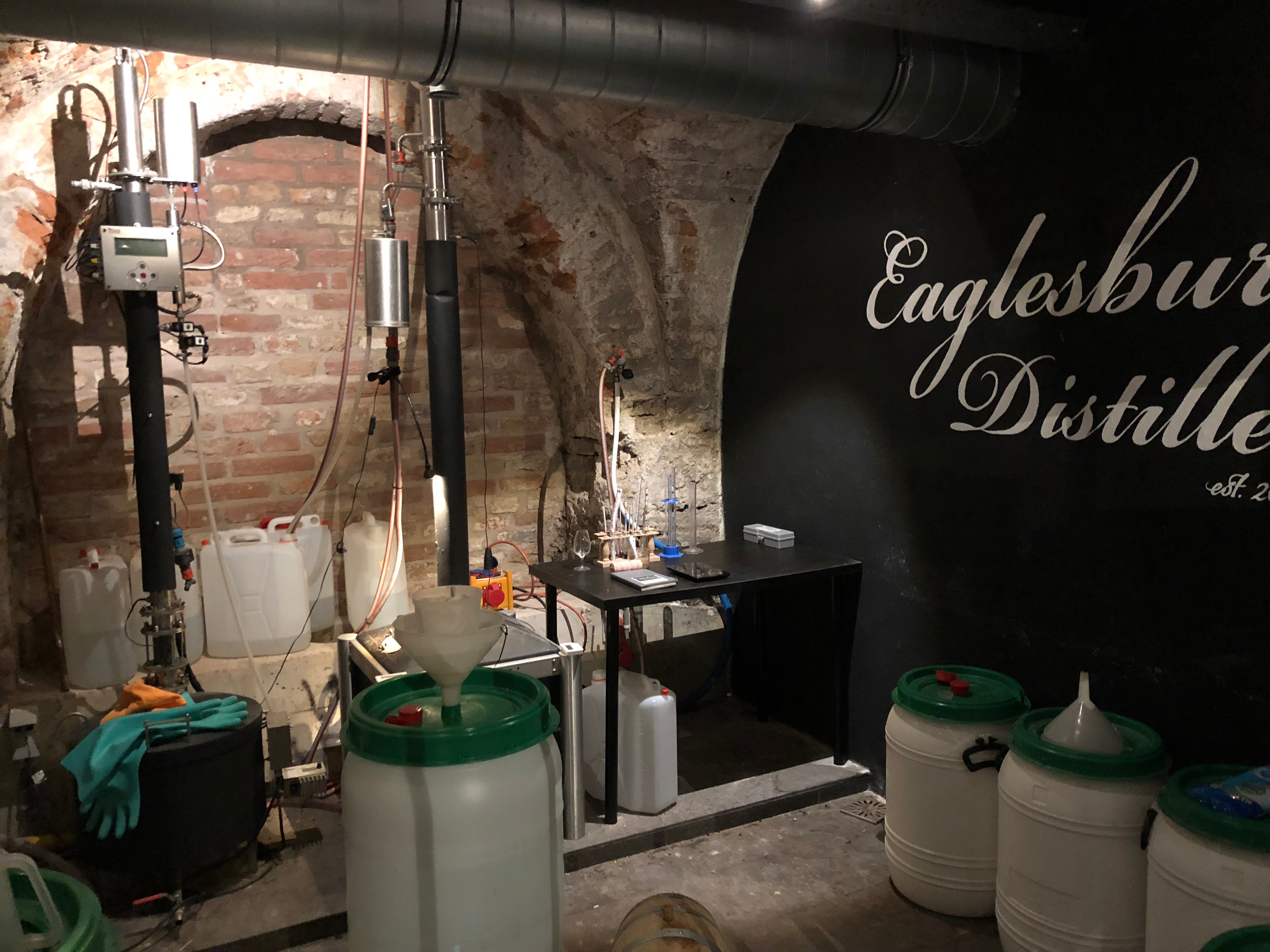 The art of gin production