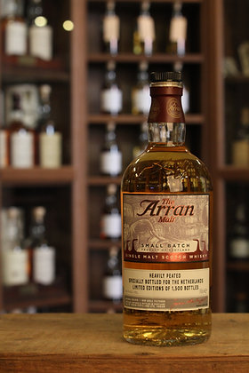 Arran heavily peated rum cask finish