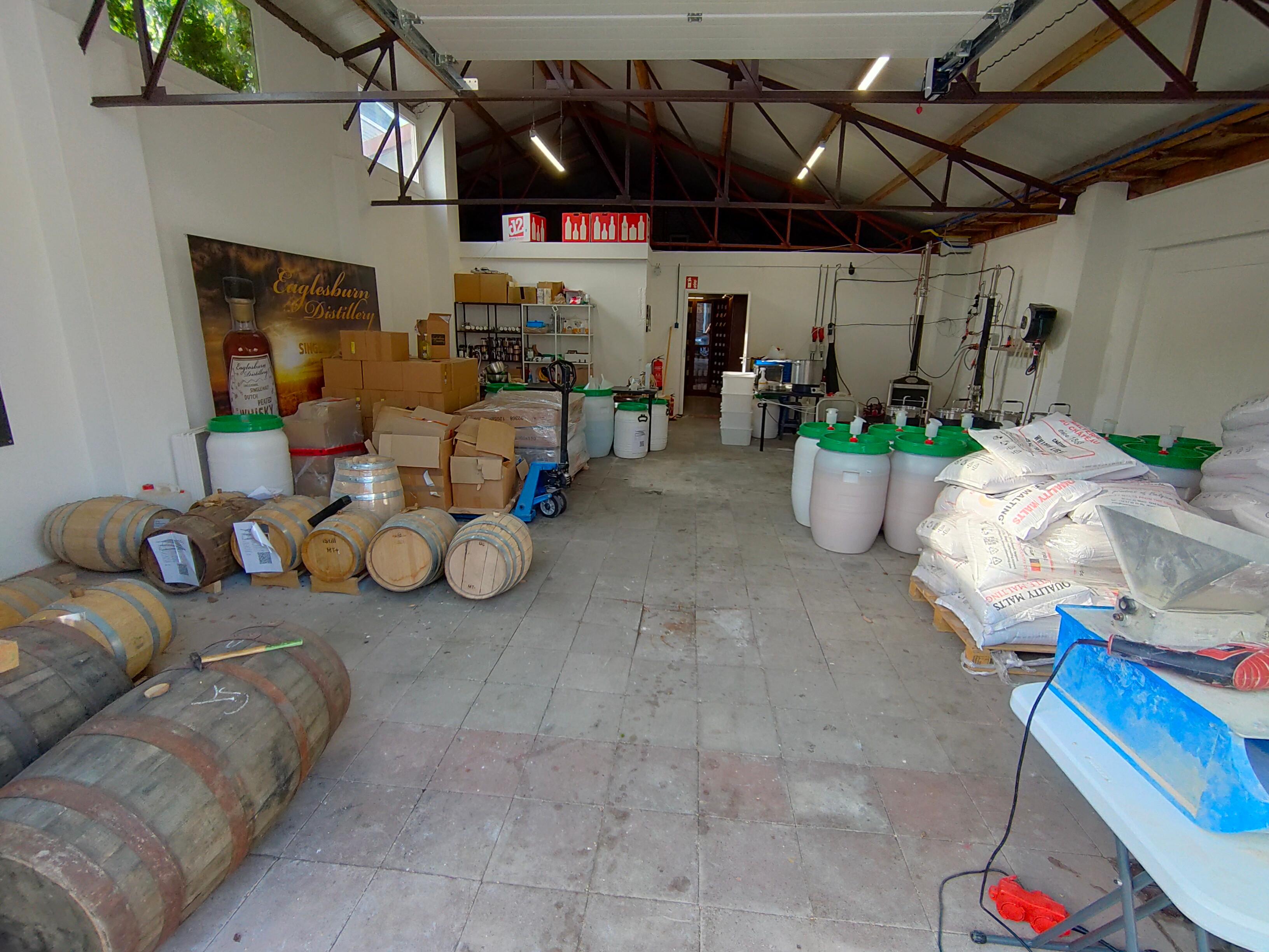 Distillery tour ( 4 dranken)