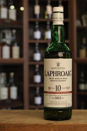 Laphroaig 10y cask strength batch 009
