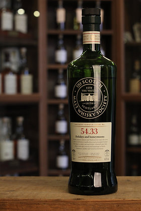 SMWS 54.33 Holidays and honeymoons