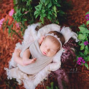 MIAMI NEWBORN PHOTOGRAPHER BABY GIRL