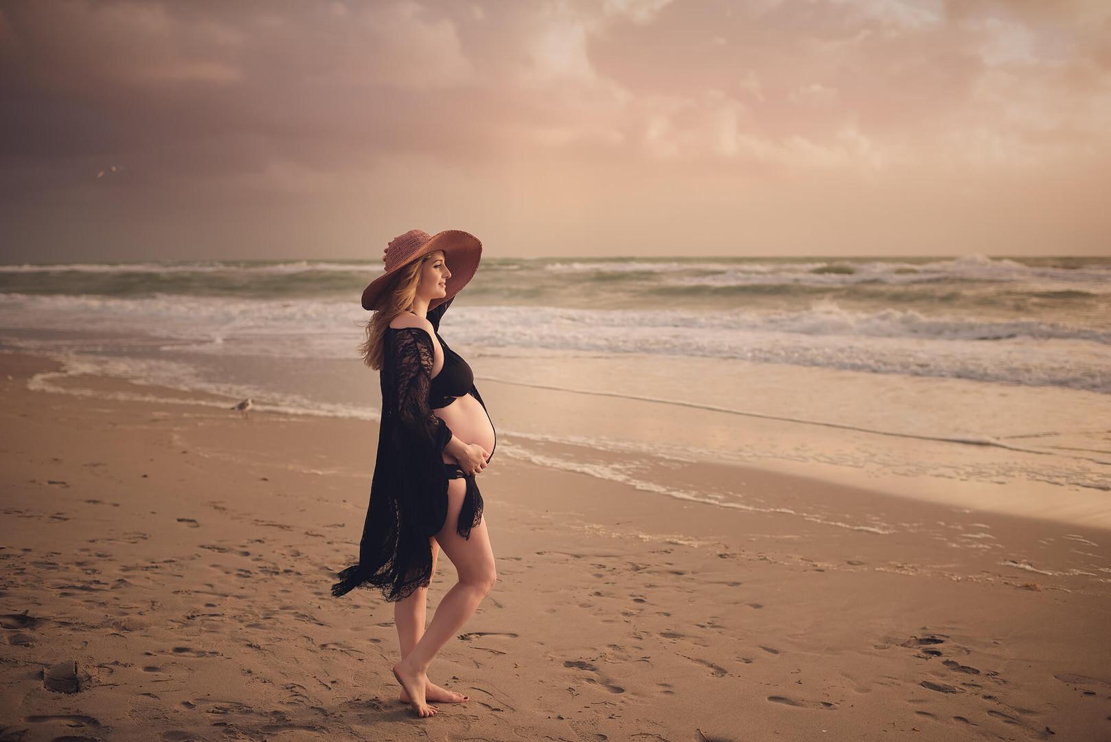 Maternity photo session Miami