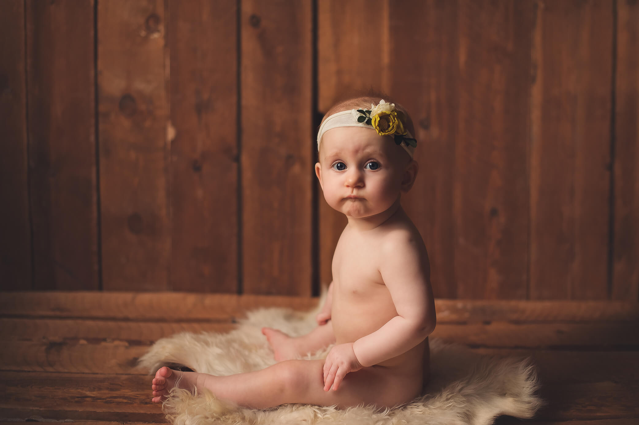 Babies Photoshoot   Sitter Session 6-9 m