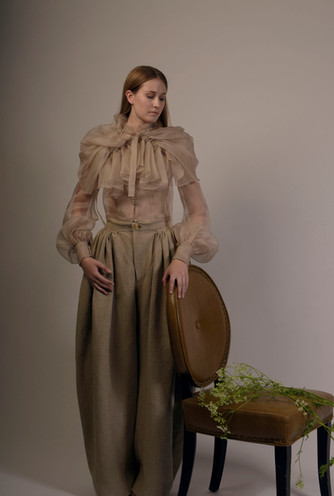 Outfits designed by Sandrine Melville  (