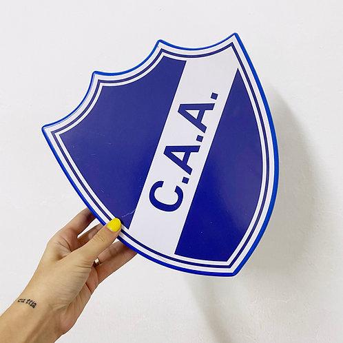 Chapa Escudo Futbol Grande