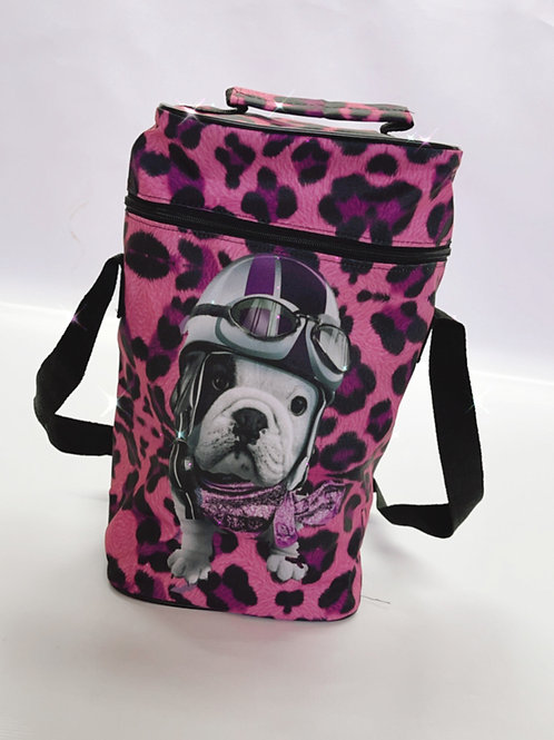 Bolso Matero Bulldog Animal Print
