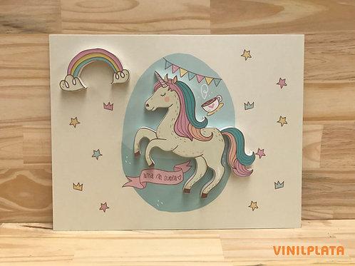 Cartel Unicornio