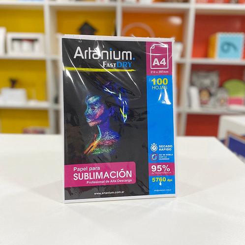 Resma ARTANIUM Fast Dry para sublimación