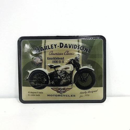 Harley Davidson Cartel termoformado Vintage