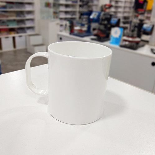 Taza blanca Linea F Polymer®