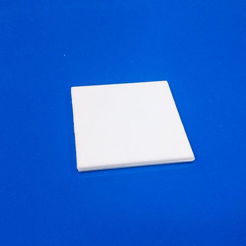 Placa Polymer Cuadrado Sublimable