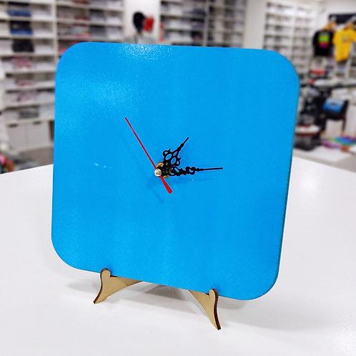 Reloj cuadrado de Madera Sublimable