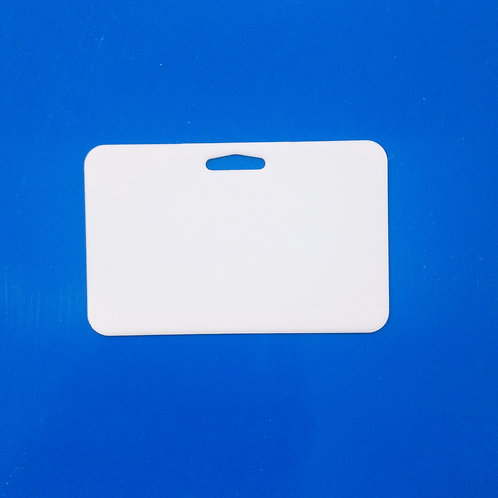 Credencial Horizontal c/agujero Sublimable