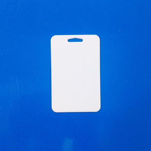 Credencial Vertical c/agujero Sublimable