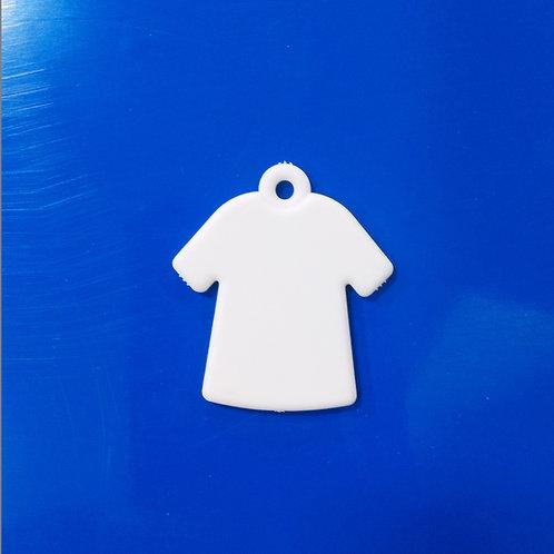 Llavero Camiseta Sublimable