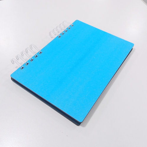 Cuaderno A5 Hojas Rayadas Con Tapa de Madera Sublimable