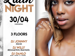 XXL Latin Night 30.04.19