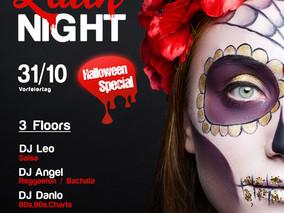 XXL Latin Night 31.10.18