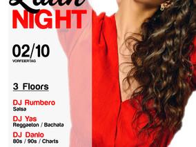 XXL Latin Night 02.10.18