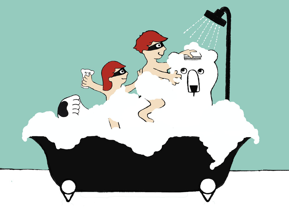 bath seen