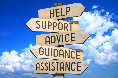 Signpost - customer support concept (help, support, advice, guidance, assistance).jpg