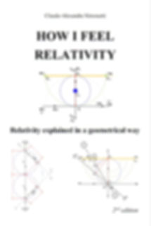 "book ""How I feel relativity"", second edition, 2017, from Claude-Alexandre Simonetti"