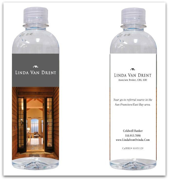 Linda Van Drent Water Bottle