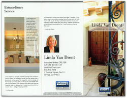 Linda Van Drent Brochure