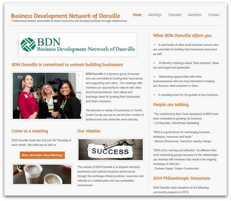 BDN Contra Costa Website