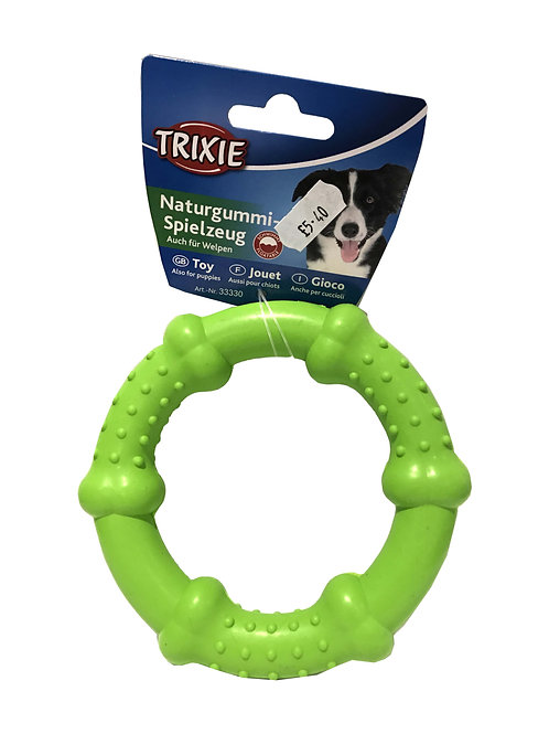 Trixie Green Rubber Ring