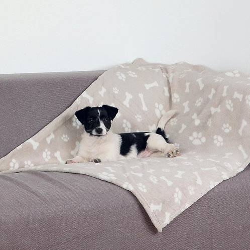 Soft Paw and Bone Blanket