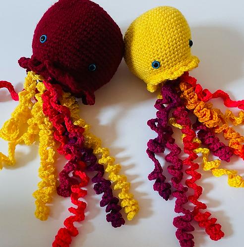 Jellyfish Crochet Pair