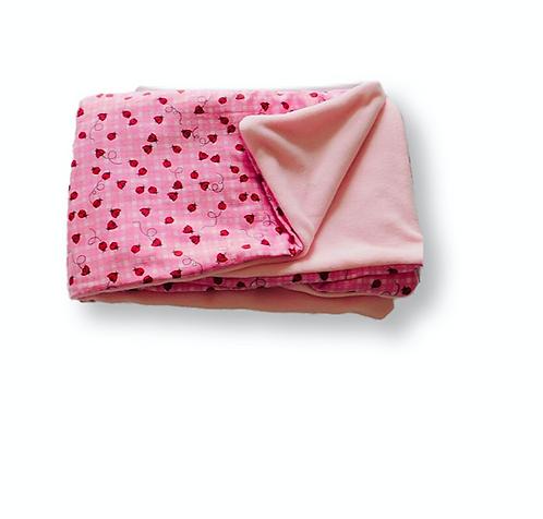 Baby/Toddler Strawberry Blanket