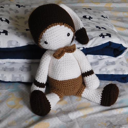Bunny Crochet doll